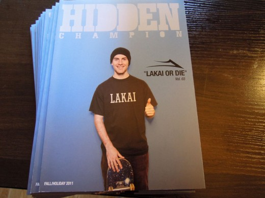 LAKAIスニーカー スケボー スケートボード HIDDEN CHAMPION