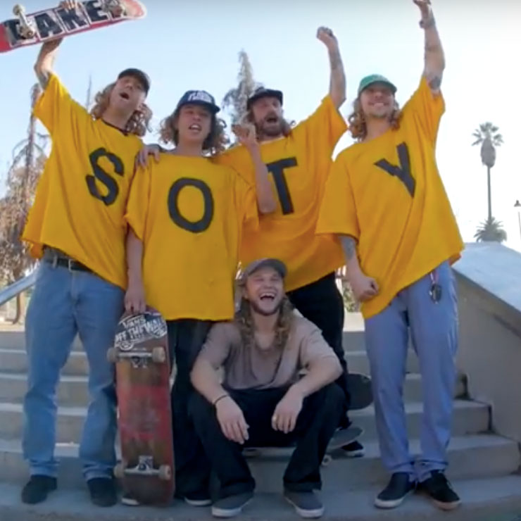 THRASHER SOTY 2017は、Jamie Foy(ジェイミー・フォイ)!!