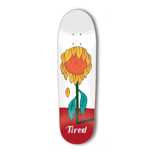 TIRED SUNFLOWER MARK(DEAL) 8.75インチ