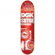 DGK スケボー デッキ 通販 SABOTAGE R.I.P 8インチ