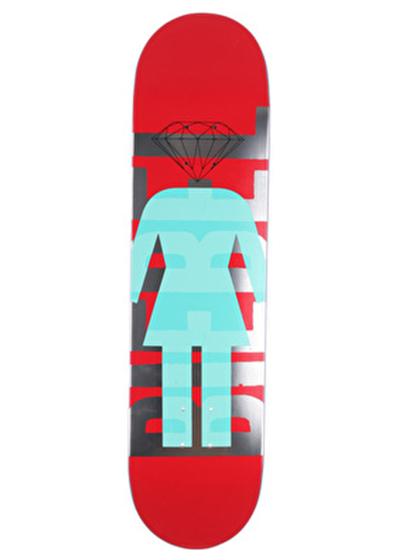 GIRL SUPPLY CO.RED ブランドン・ビーブル 8インチ