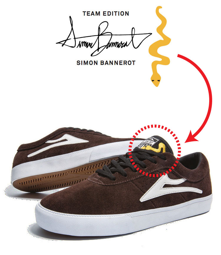 LAKAI SHEFFIELD Simon Bannerot サイモン・バネロー