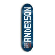 SKATE MENTAL NAME ジェイク・アンダーソン 8.25インチ