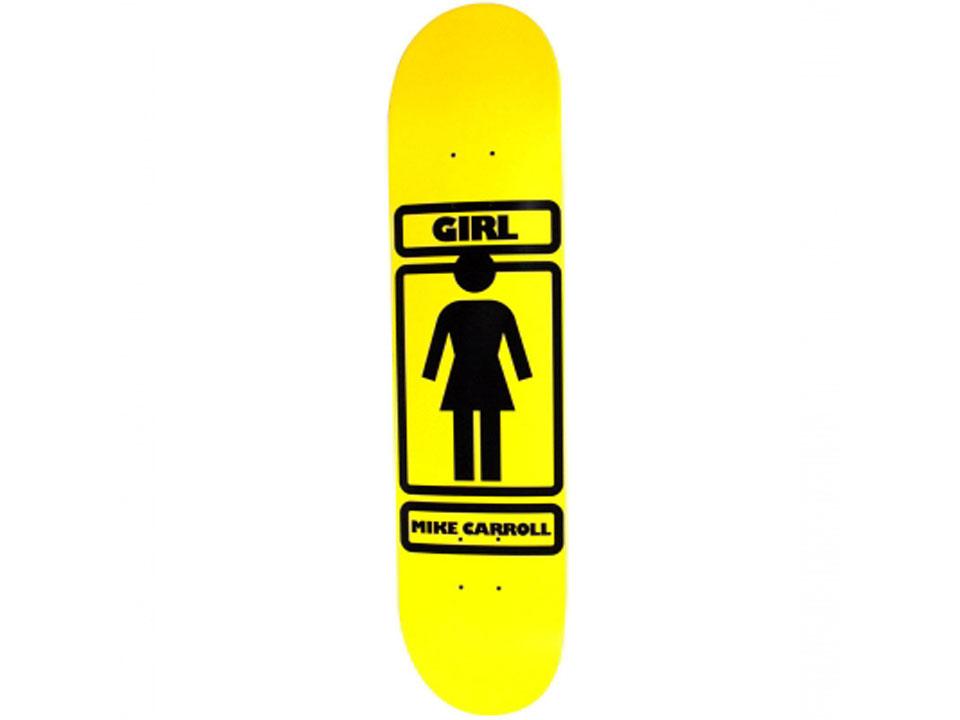 GIRL OG LOGO マイク・キャロル 7.625インチ