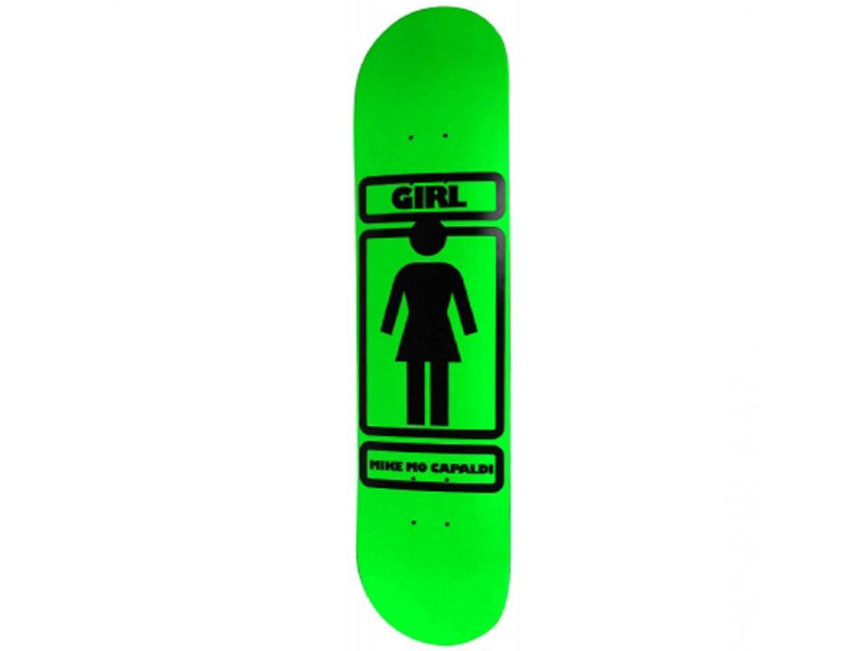 GIRL OG LOGO マイク・モー・キャパルディ 7.625インチ