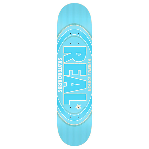 REAL OVAL REMIX BLUE 7.3インチ