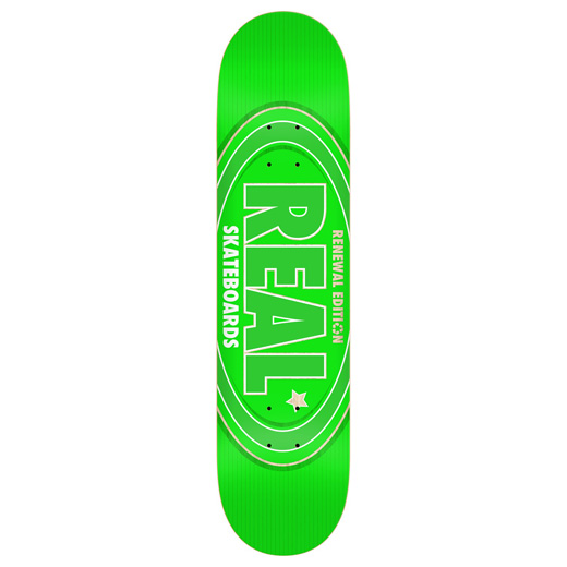 REAL OVAL REMIX GREEN 7.75インチ