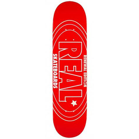 REAL RENEWAL OVAL RED 7.3インチ