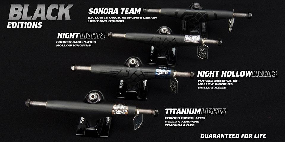 THUNDER サンダー トラック ブラック