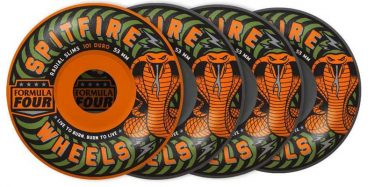 SPITFIRE F4 101D RADIAL SLIM SPEED KILLS MASH UP ORANGE/GREY