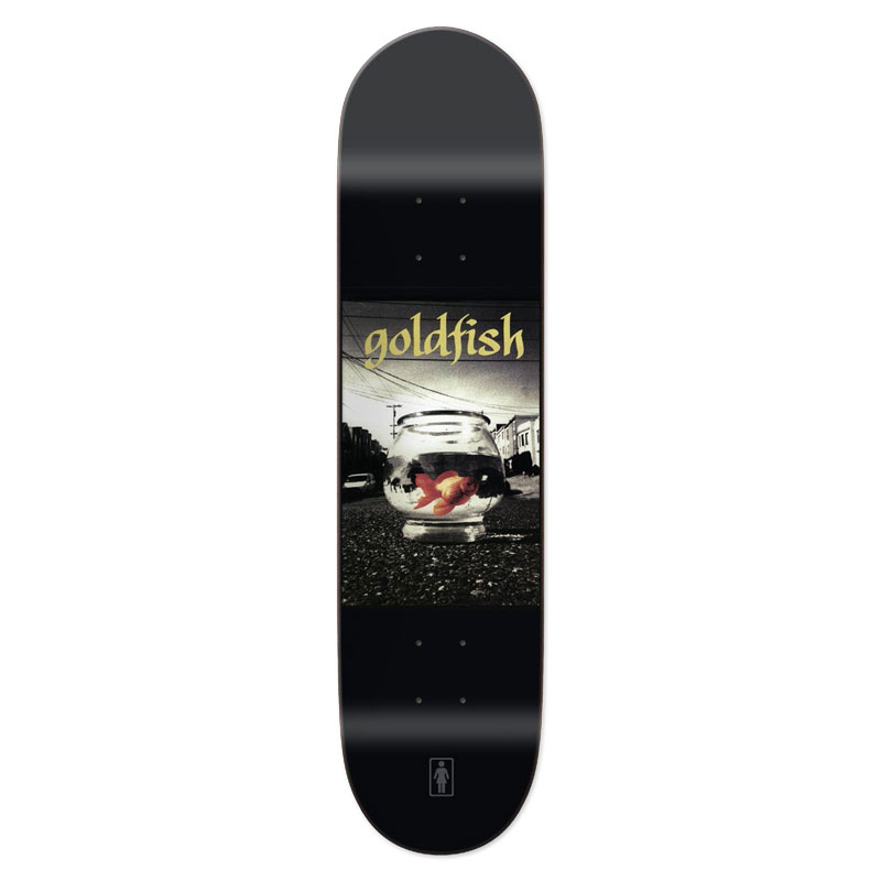 GIRL FILMS DECK GOLD FISH 8インチ