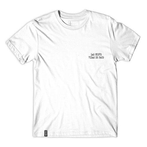 CHOCOLATE LAS NUEVE VIDAS DE PACO Tシャツ ホワイト