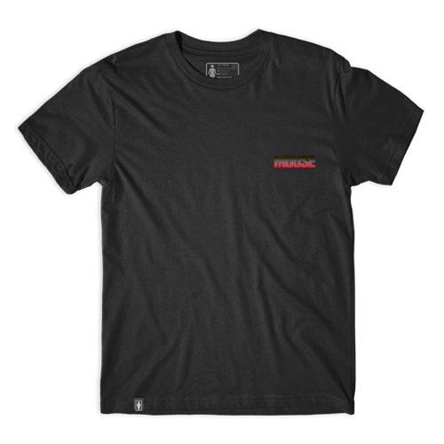 GIRL MOUSE Tシャツ ブラック