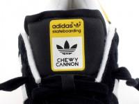adidas CUMPUS VULC Chewy Cannon ブラックスエード/ガムソール タグ