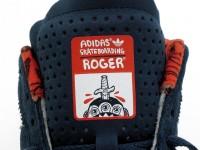 adidas アディダス SKATEBOARDING スケボー スケートボード RONAN ネイビースエード ROGER タグ