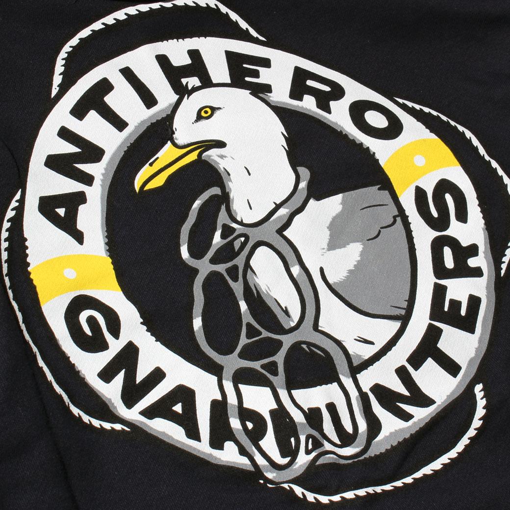 ANTIHERO GNARHUNTERS スウェットパーカー