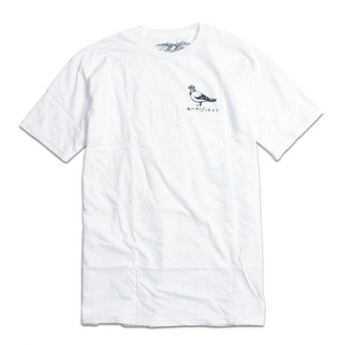 ANTIHERO BASIC PIGEON Tシャツ ホワイト