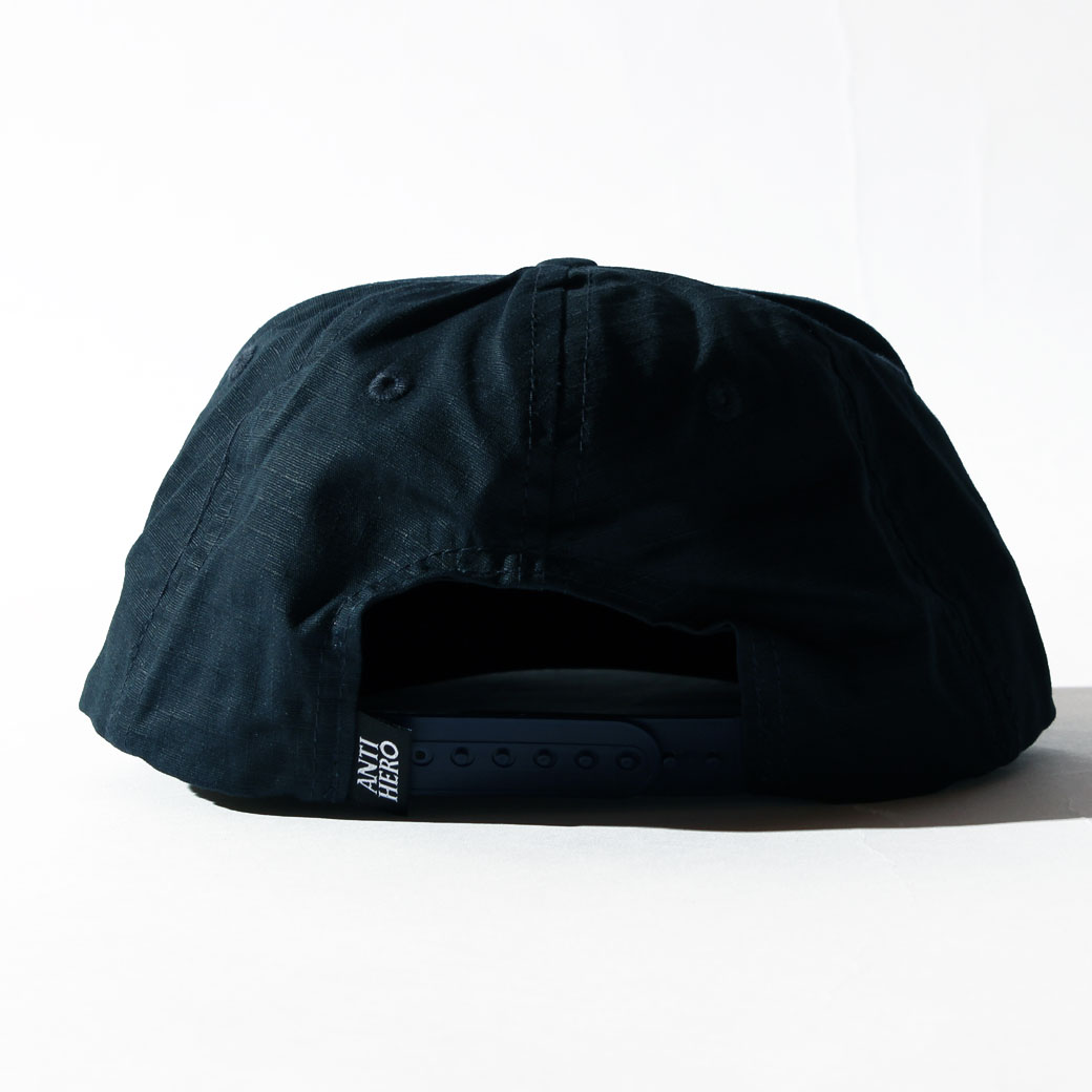 ANTIHERO SNAPBACK CAP イーグル ネイビー