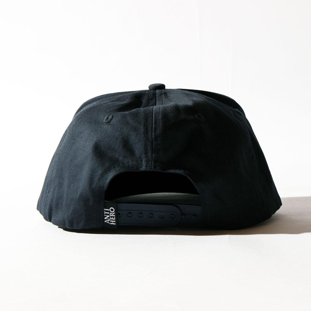 ANTIHERO SNAPBACK CAP ピジョン ネイビー