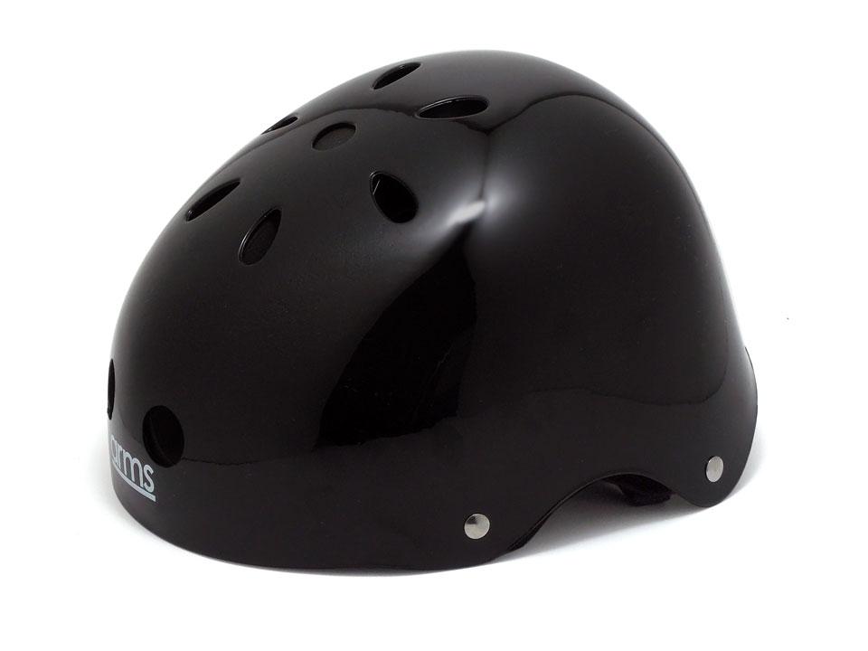 arms スケボー ヘルメット ブラック 全体