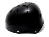 arms スケボー ヘルメット ブラック 横