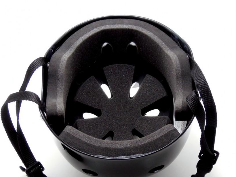 arms スケボー ヘルメット ブラック 内側