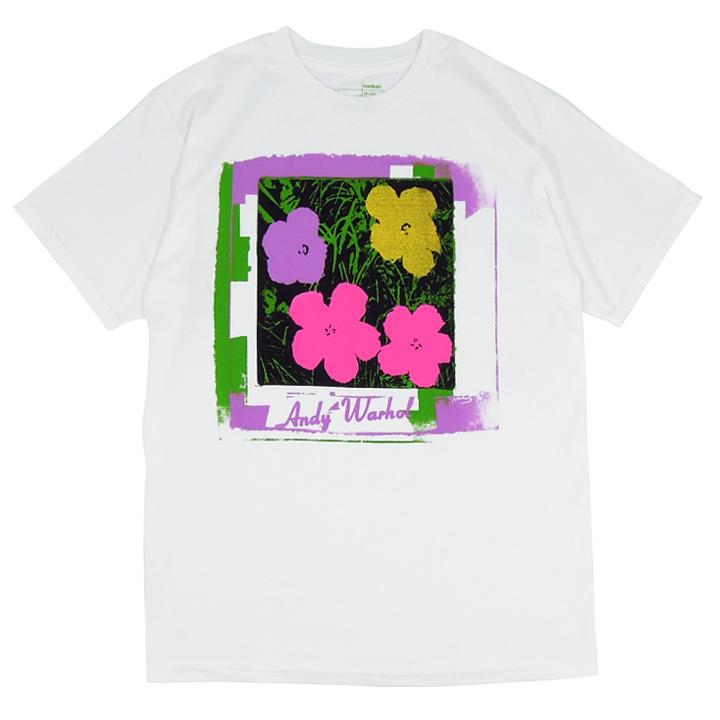 Alien Workshop スケボー スケートボード Warhol Flowers Tシャツ 01