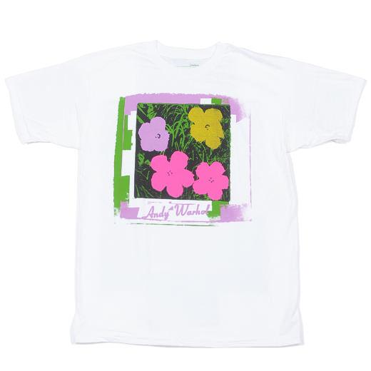 Alien Workshop Skateboards Warhol Flowers T-Shirt 01