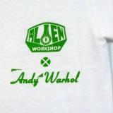 Alien Workshop スケボー スケートボード  Warhol Flowers Tシャツ 07