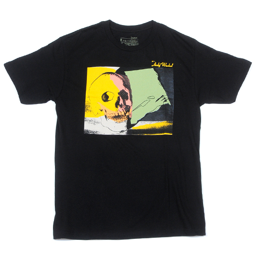 Alien Workshop Skateboards Warhol Skull T-Shirt 01
