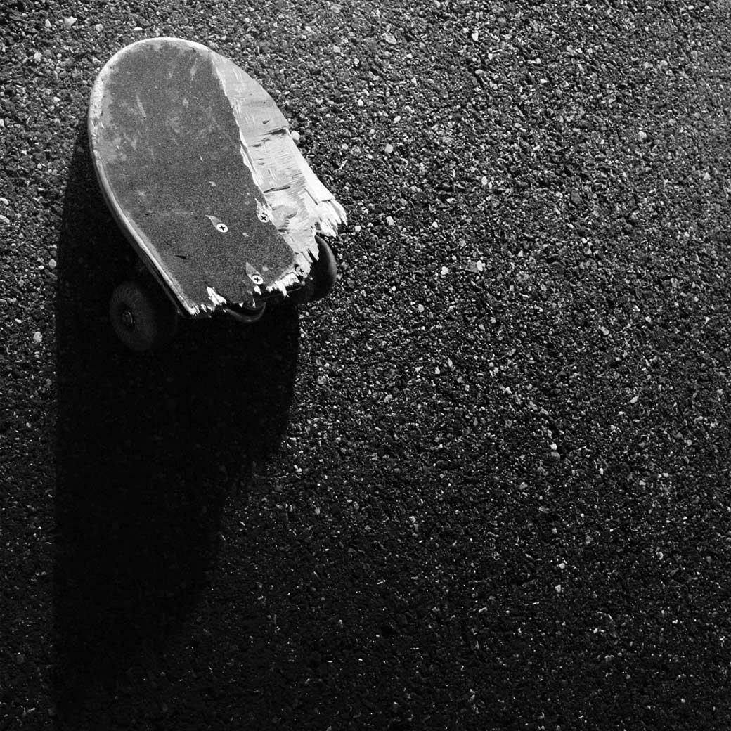 スケートボードが後悔する日