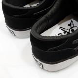 LAKAI CARROLL5 FOURSTAR 15YEAR ANNIVERSARY BLACK PACK 通販 スニーカー スケボー スケートボード ラカイ フォースター ヒール部分