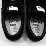 LAKAI CARROLL5 FOURSTAR 15YEAR ANNIVERSARY BLACK PACK 通販 スニーカー スケボー スケートボード ラカイ フォースター インナー