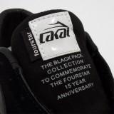 LAKAI CARROLL5 FOURSTAR 15YEAR ANNIVERSARY BLACK PACK 通販 スニーカー スケボー スケートボード ラカイ フォースター タグ