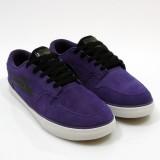 LAKAI 通販 スニーカー スケボー スケートボード シューズ ラカイ CARROLL5 Purple Suede ななめ前