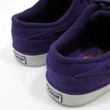LAKAI 通販 スニーカー スケボー スケートボード シューズ ラカイ CARROLL5 Purple Suede ヒール部分