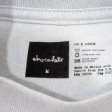 Chocolate スケボー スケートボード Tシャツ 通販 Fluorescent Square T-Shirt 03