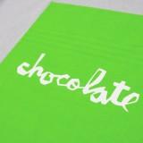 Chocolate スケボー スケートボード Tシャツ 通販 Fluorescent Square T-Shirt 05