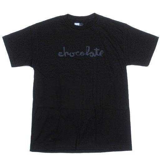 Chocolate Skateboards Chocolate Chunk Script T-Shirt 01