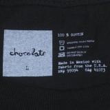 Chocolate Skateboards Chocolate Chunk Script T-Shirt 06