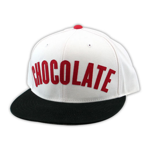 Chocolate Skateboards チョコレート スケートボード スケボー 通販 キャップ LEAGUE ADJUSTABLE CAP White/Red