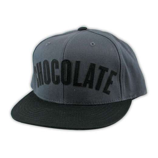 Chocolate Skateboards チョコレート スケートボード スケボー 通販 キャップ LEAGUE ADJUSTABLE CAP Black/Grey