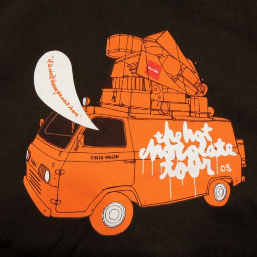 Chocolate パーカ スエット ホットチョコレートツアー DVD The Hot Chocolate Tour Hoodie プリント部分