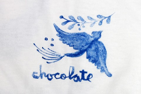 Chocolate TALAVERA BIRD Tシャツ
