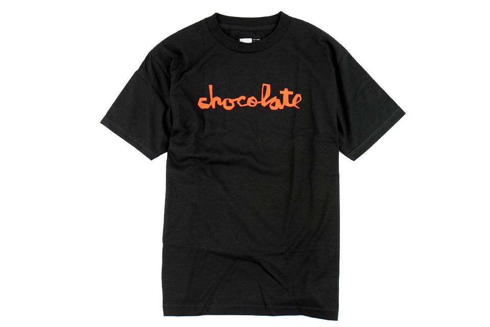 Chocolate スケボー スケートボード スケーターファッション Tシャツ ト チャンク ブラック 01