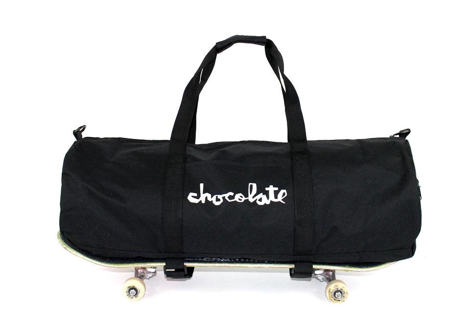 Chocolate スケートダッフルバッグ