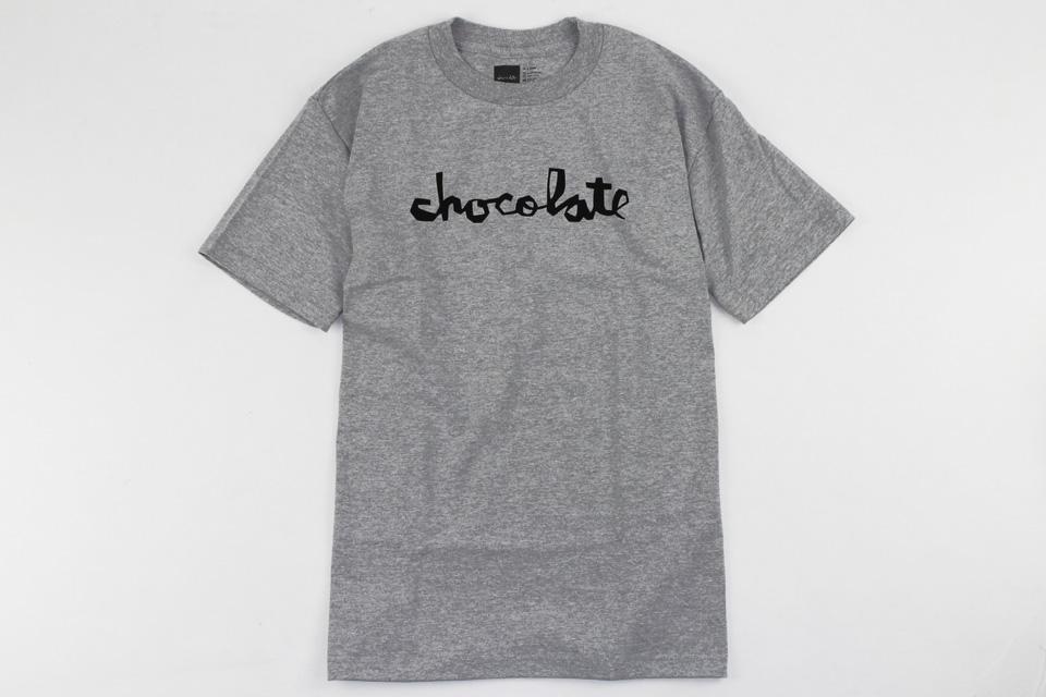 Chocolate スケボー スケートボード スケーターファッション Tシャツ ト チャンク グレー 01