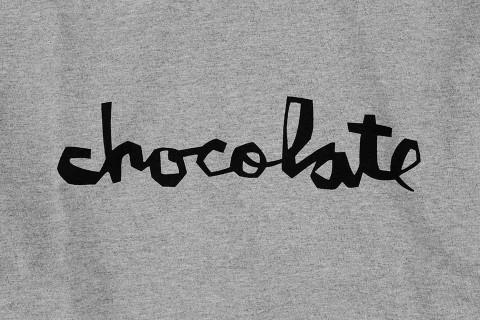 Chocolate スケボー スケートボード スケーターファッション Tシャツ ト チャンク グレー 02