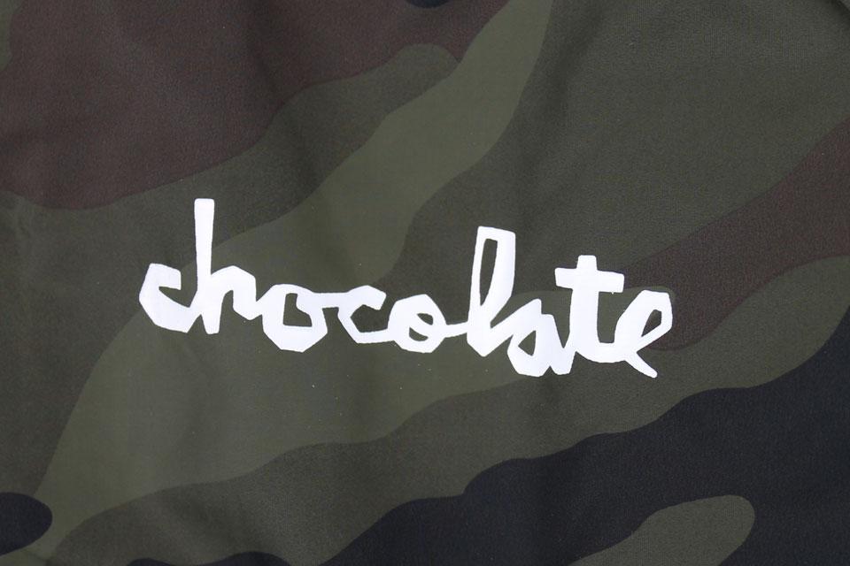 Chocolate チャンク コーチジャケット カモ