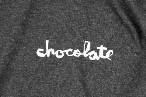 Chocolate トライブレンド チャンクロゴ Tシャツ ブラック